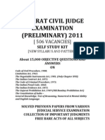 Gujarat Civil Judge Examination Solved Previous Question Papers Syllabus Pattern