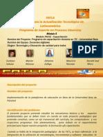 Programa de capacitación docente en TIC - Universidad Beta