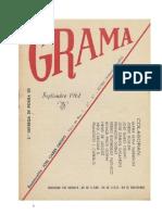 Revista de poesía GRAMA, nº 2