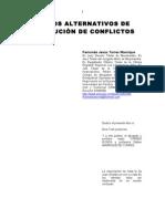 Medios Alternativos Resolucion Conflictos Derecho Negociacion Arbitraje