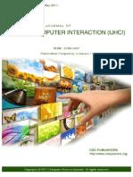 International Journal of Human Computer Interaction IJHCI_V2_I2