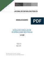 Manual Conciliacion Operaciones Reciprocas2010