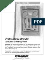 Prefix Stereo Blender User Guide