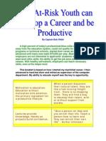 Motivation Booklet Develop a Career
