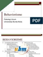 PB12MAT_XV BEHAVIORISME