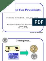 10 Presidents of American