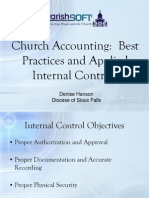 Church Accounting Best Practices