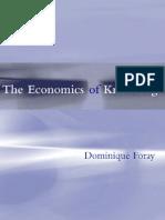 Economics of Knowledge
