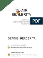 TEKNIK BERCERITA