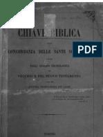 Chiave biblica, ossia concordanza delle sante Scritture 1864