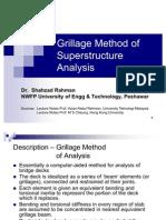 Grillage Analysis