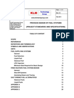 Project Standards and Specifications Fuel Systems Rev01