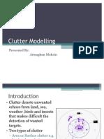 Clutter Modelling