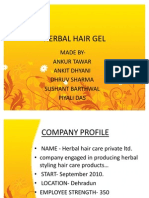 Herbal Hair Gel