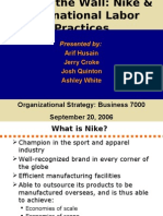 nike case study change management A comparative analysis of strategies and business performance by analysing case studies, articles and the annual report of nike inc and adidas inc the study.