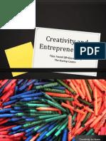 Creativity and Entrepreneurship