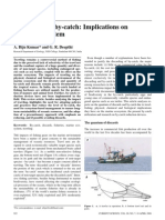 Effect of trawling in marine ecosystem