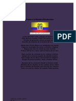 Poema a La Bandera Ecuatoriana