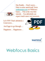 Webfocus Basics Tutorial