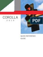 Corolla QRG 2010