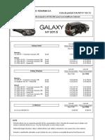 Lista de Preturi Ford Galaxy