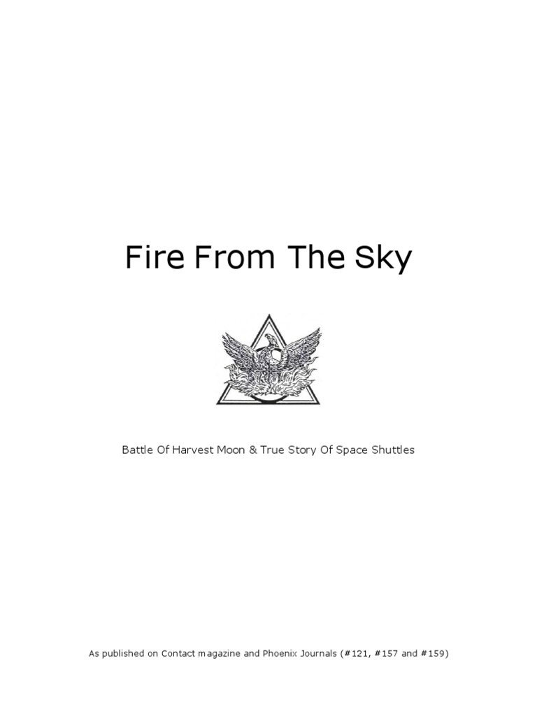 Fire From the Sky | Skylab | Space Shuttle