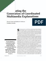 Automating Generation of Coordinated Muli Media