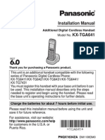 Panasonic Phone User Guide