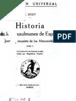 Historia de los musulmanes de España Tomo1