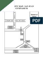 Map San Juan Gymnasium