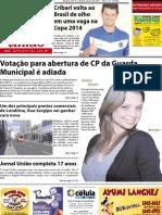 Jornal União - Edição de 15 à 30 de Julho de 2011