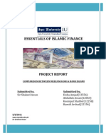 Project Report Islamic Finance