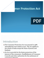 Consumer Protection Act Gahlot