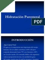 Hidratación Parenteral