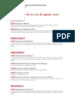Agenda Jmj Madri