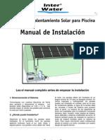 Manual Instalacion Paneles Solares