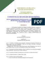 CONSTITUIÇÃO ESTADUAL-ATUALIZADA-EMENDA CONSTITUCIONAL Nº 76 - JUNHO 2011