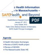 Health Alliance Hospital Grand Rounds - Safe Health and Beyond