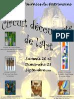 les JOURNEES DU PATRIMOINE DES 20 ET 21 SEPTEMBRE 2008-HOME