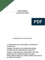 Switch Signaling