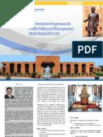 Information Brochure 6th PGPPPM MDI Gurgaon