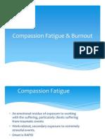 Compassion Fatigue & Burnout CGH