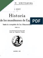Historia de los musulmanes de España Tomo 3