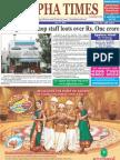 Alpha Times T Nagar Edition July 17, 2011