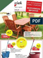 Gazetka reklamowa Gockowiak - lipiec/sierpień 2011