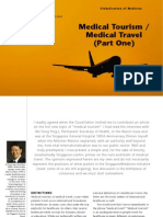 Medical Tourism / Medical Travel (Part One) - Dr Jason Yap