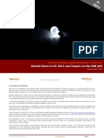 Market News in H1 and Impact on the ASI - 030711