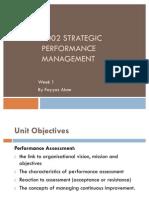 7002 Strategic Performance Management Wk 1