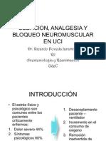 Sedation, Analgesia, and Neuromuscular Blockade in ICU