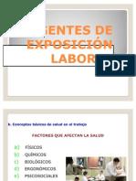 AGENTES DE EXPOSICIÓN LABORAL
